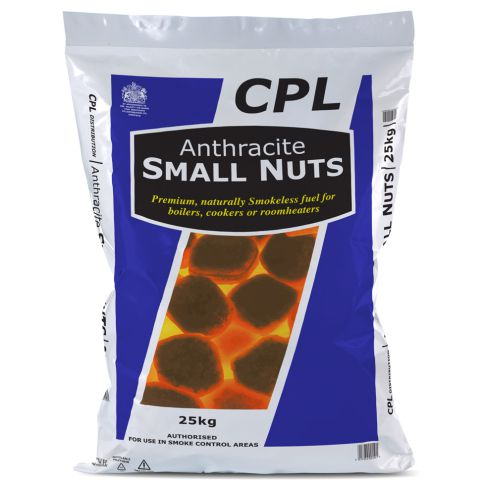 Anthracite Small Nuts 25kg Bag