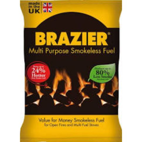 Brazier Multi-Purpose Smokeless Coal 20kg Bag